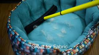Rubber Broom Hair Remover