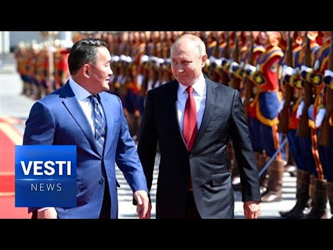 Putin Visits Mongolia