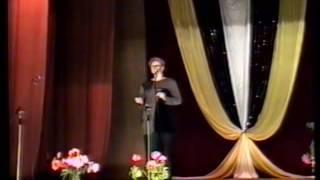Самойловка2001ДК.Конкурс медсестер.Поёт В.Новогординская.
