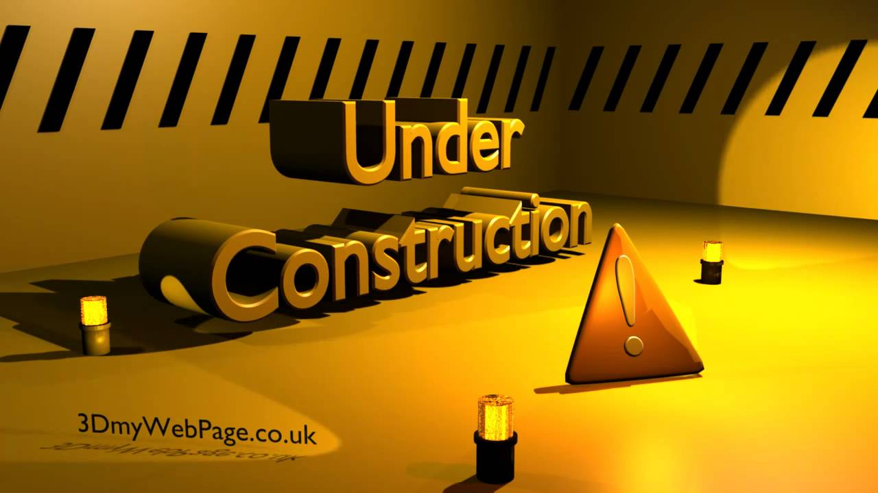 Under Construction Web Resource Youtube