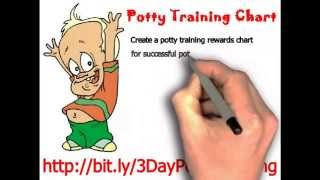 Potty Training Charts - 3 Day Potty Training Tips - Boys & Girls