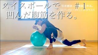 SB-1【腹筋】SWISS BALL プランクサークル&スパイダー Swiss Ball スイスボール【バランスボールエクササイズ】