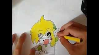 The Legend of Zelda: How to draw chibi Link