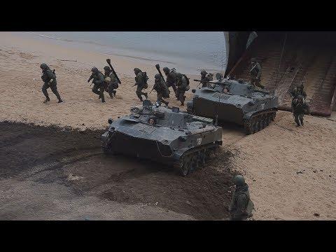 В Крыму прошли масштабные совместные учения ВДВ, ВМФ и авиации.