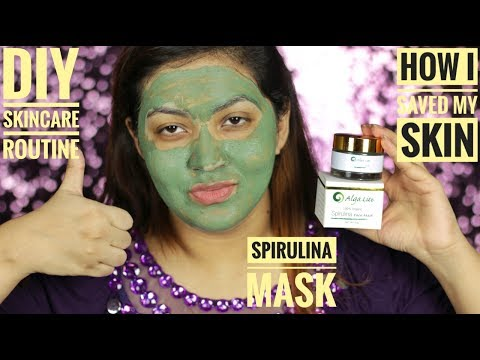 DIY Skin Care Solutions || 3 Types of Masks || Spirulina Powder || In Depth Review