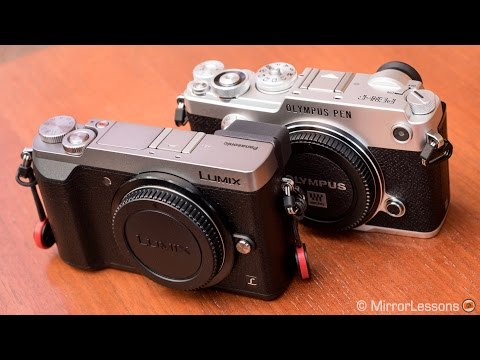Panasonic GX80 / GX85 Vs Olympus Pen F - 5-axis Stabilization Comparison