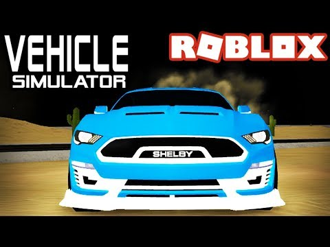 *NEW* Shelby Mustang SUPER SNAKE in Vehicle Simulator! - Roblox