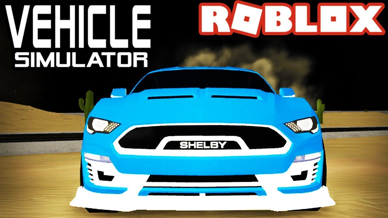 *NEW* Shelby Mustang SUPER SNAKE in Vehicle Simulator! - Roblox - YouTube