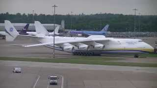 Antonov 225 Mriya. Manchester Airport EGCC. 26/06/13