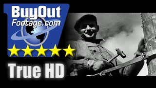 HD Historic Stock Footage FARM FAMILY GETS ELECTRICITY 1930s REEL 3