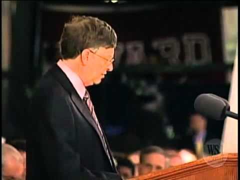 (www.bbc.edu.vn) Bài diễn thuyết tại Harvard của Bill Gates Part 3