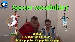 De fútbol inglés crampones en