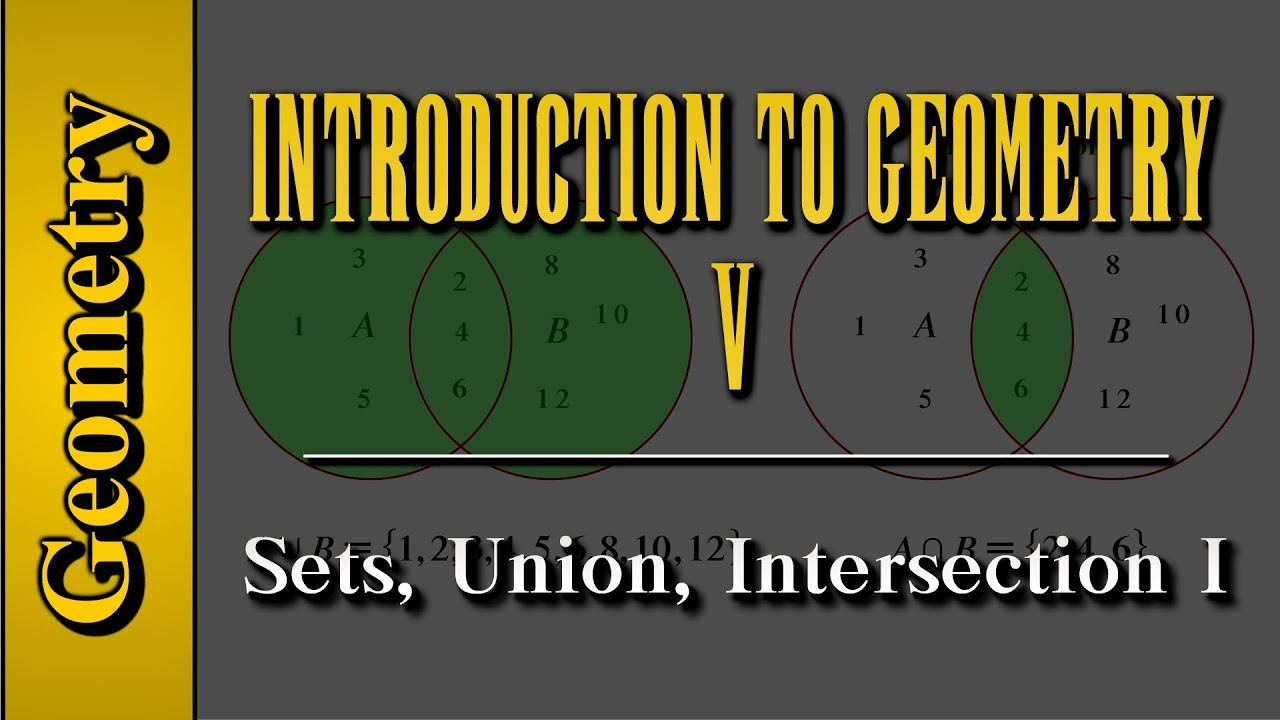 Geometry: Introduction to Geometry (Level 5 of 7) | Sets, Union ...