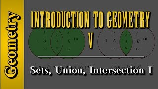Geometry: Introduction to Geometry (Level 5 of 7)   Sets, Union, Intersection I