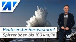 Wetterwarnung: Schwere Sturmböen im Norden!