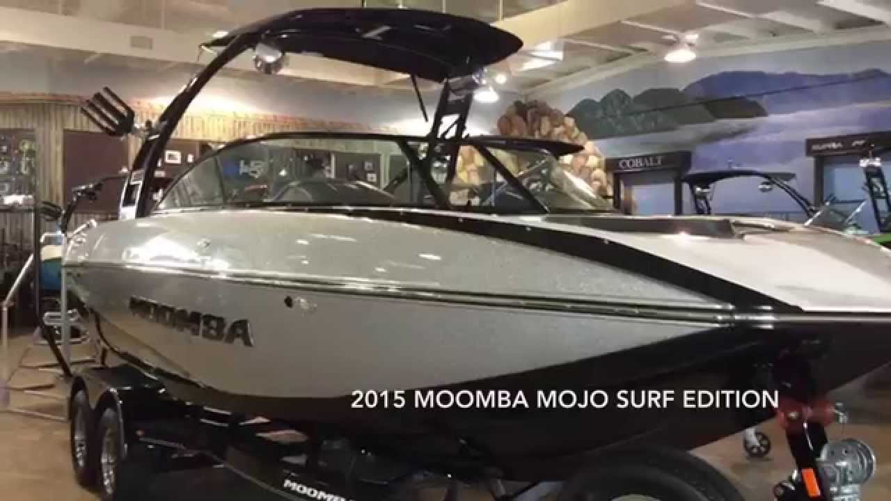 2015 moomba mojo black silver youtube. Black Bedroom Furniture Sets. Home Design Ideas
