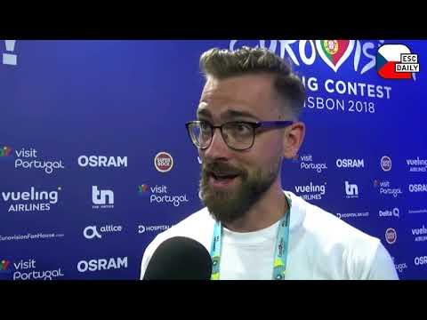 Doctors forbid Mikolas Josef from doing his backflip at Eurovision