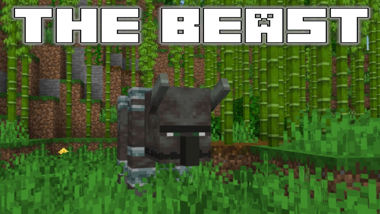 Minecraft 1 14 Snapshot 18w43a The Illager Beast Youtube