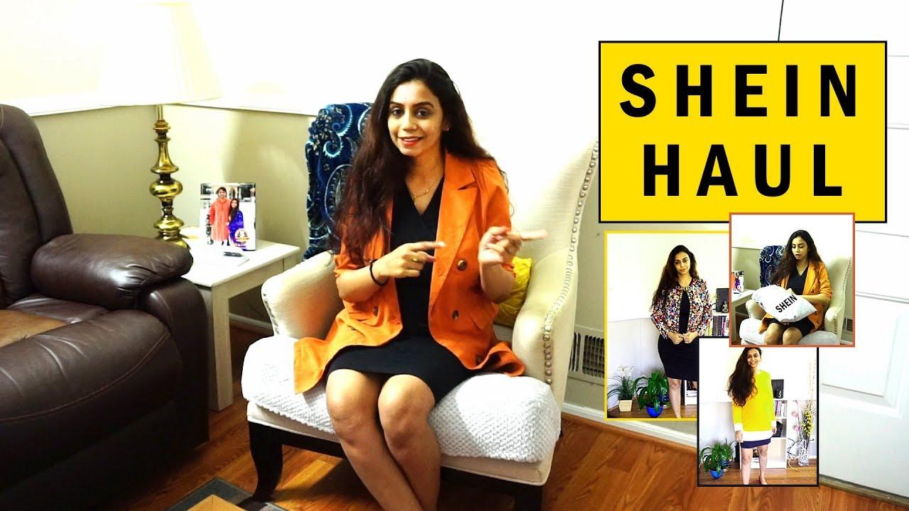 7ae8bac3db SHEIN HAUL FEB 2019 | Review | Must Try | Akanksha - YouTube