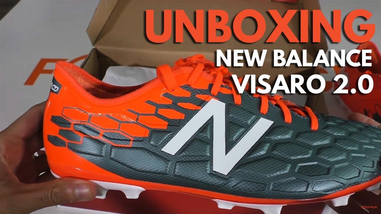 c52728c8 UNBOXING - New Balance Visaro 2.0