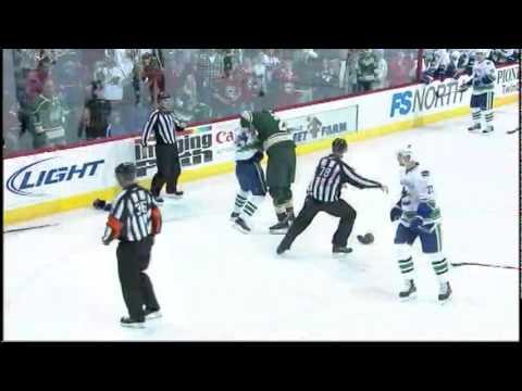 Derek Boogaard vs. Darcy Hordichuk 2/14/10