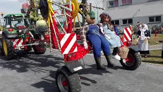 Babimost Dożynki Wojewódzkie 2018 korowód maszyn
