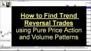 Trend Reversal Patterns Stock Volume Analysis
