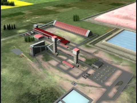 Conceptual Potash Mine In Saskatchewan