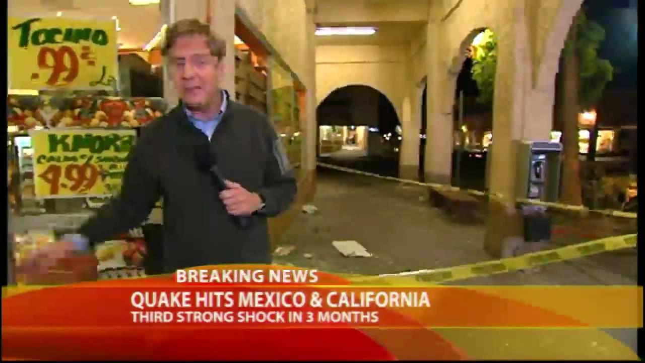 No damage reported after magnitude-5.5 quake strikes Baja California