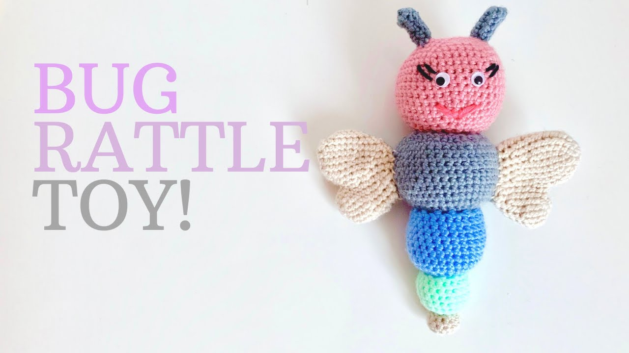 Amigurumi elephant rattle - Crochet pattern | 720x1280