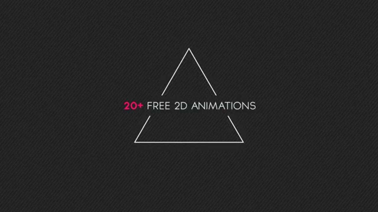 Free After Effects Template #4: 2D Animation Pack! - YouTube
