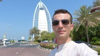 Vlog Dubai: Davanti al Burj Al Arab...Hotel a 7 Stelle