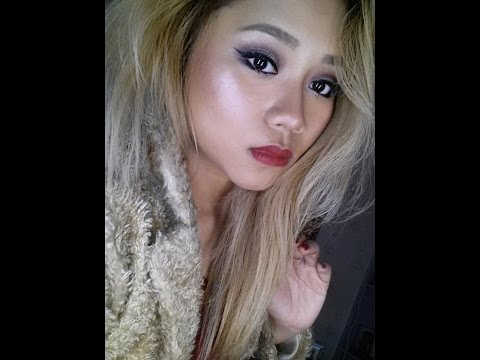 My New Years Eve Make Up Look 2015