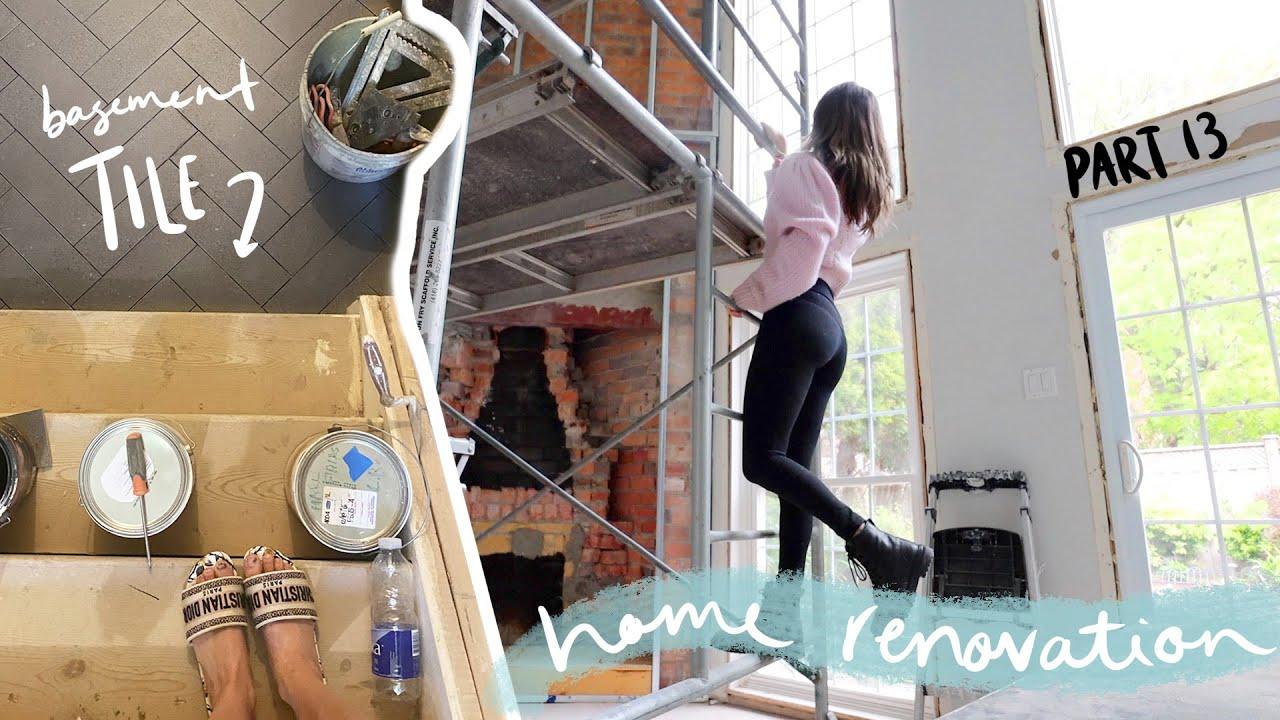 HOME RENOVATION WEEK 13 // problem solving, HERRINGBONE & painting!