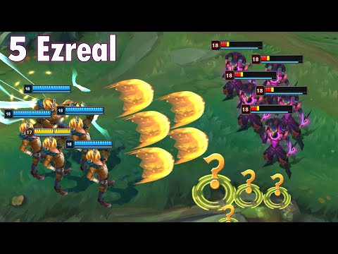 ONE FOR ALL Is Very Fun 2020 (5 Ezreal Ultimate, ADC Yuumi Penta...)