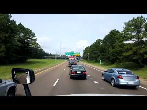 BigRigTravels LIVE! Jackson, Mississippi to Greenwood, Louisiana Interstate 20 West-Aug. 21, 2018