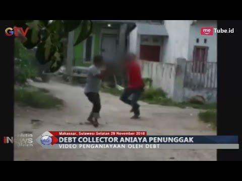 [Video Amatir] Debt Collector Aniaya Penunggak hingga Bersimbah Darah di Makassar - BIM 29/11