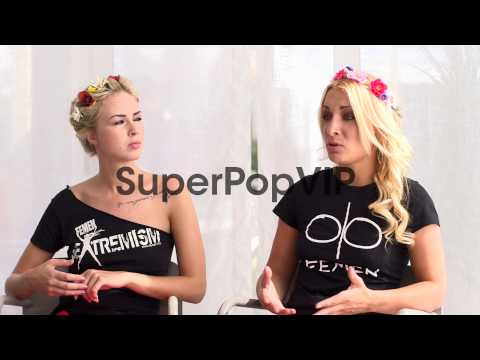 INTERVIEW - Inna Shevchenko, Sasha Shevchenko on the move...
