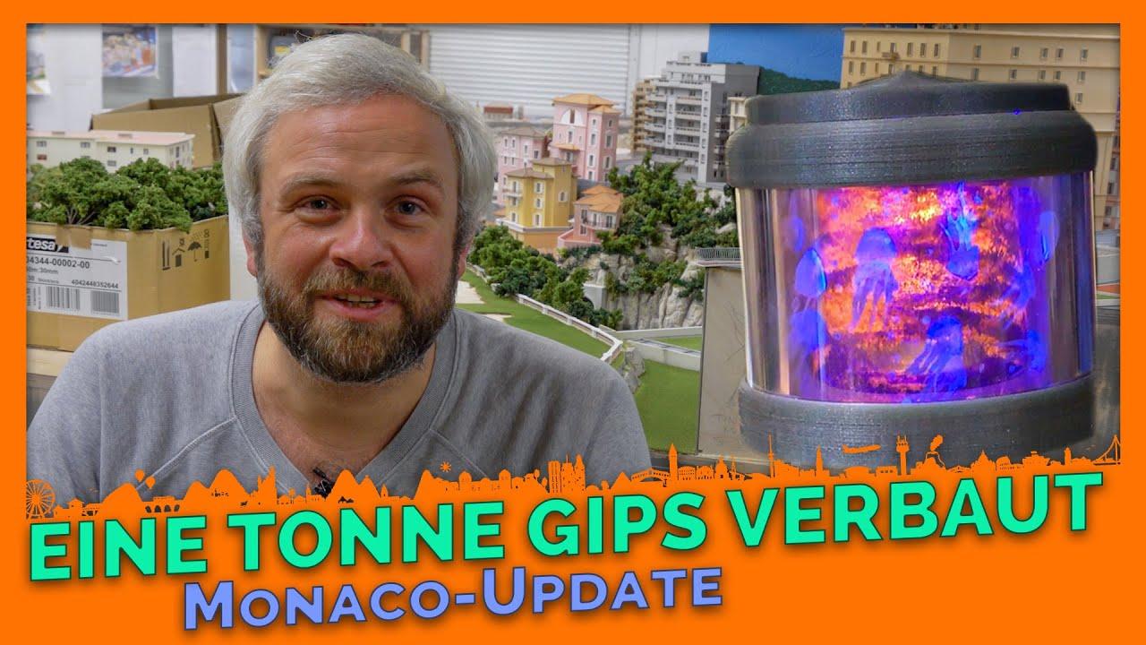 Erste Prachtbauten, fast eine Tonne Gips verbaut - Monaco Update #1