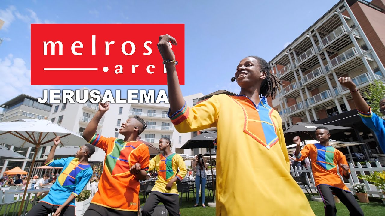 Melrose Arch, the Mzansi Youth Choir and the Jerusalema Dance Challenge