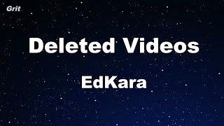 【Notice】Deleted Videos - EdKara