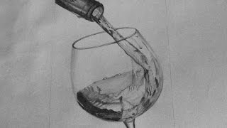 Drawing Wine Glass