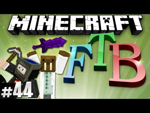 Minecraft Feed The Beast #44 - Solar Helmet & Vile Sword!