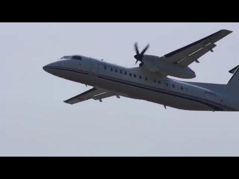 国土交通省 航空局 DHC-8-315Q Dash 8 小松空港 Japan Civil Aviation Bureau DHC-8-315Q Dash 8 Komatu Airport