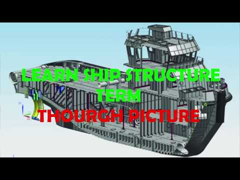 Learn SHIP Structure through picture P1 - Naval Architect for All