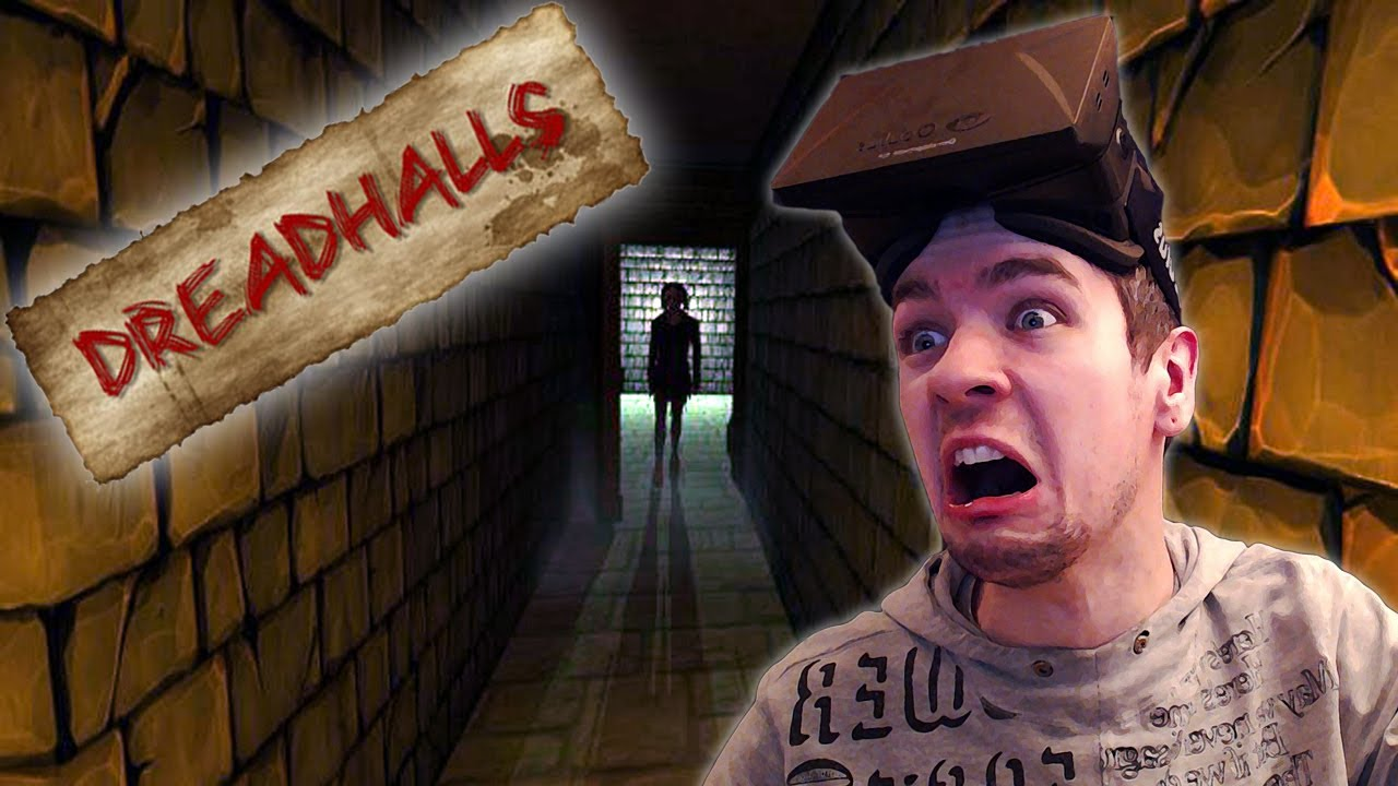 dreadhalls scariest game ever oculus rift horror game youtube