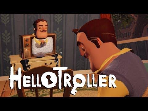 Trolling Hello Neighbor - ALPHA