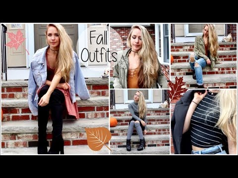 Fall Outfit Inspiration 2017 | Fall Lookbook 2