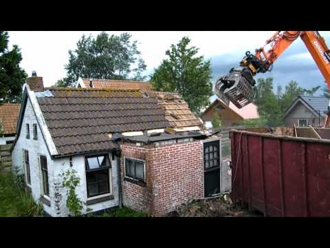 Huis slopen - Readtsjerk juli 2012