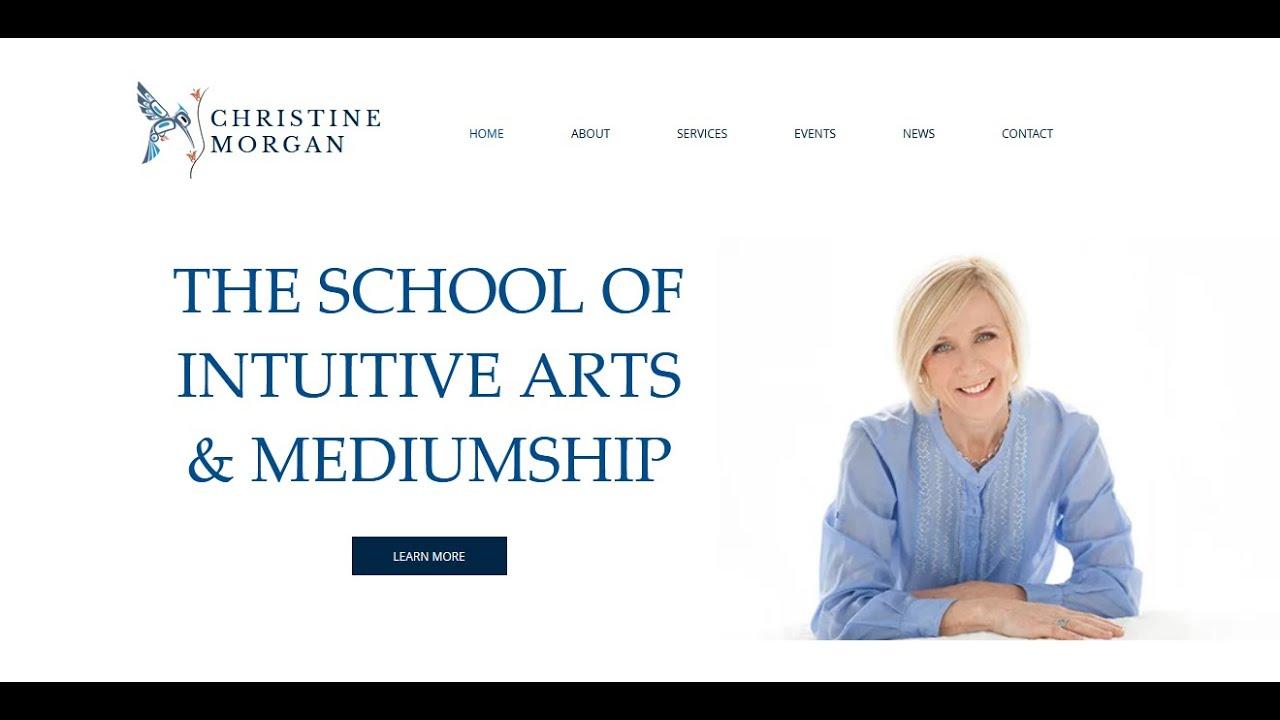 Christine answers questions on Mediumship